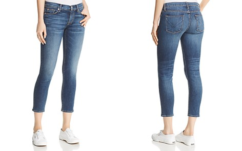 Hudson Tally Crop Skinny Jeans in Unfamed - Bloomingdale's_2