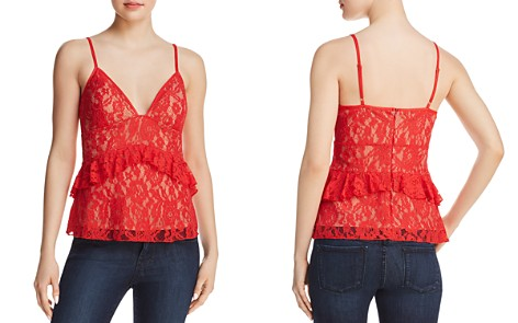 FRENCH CONNECTION Ruffled Lace Top - Bloomingdale's_2