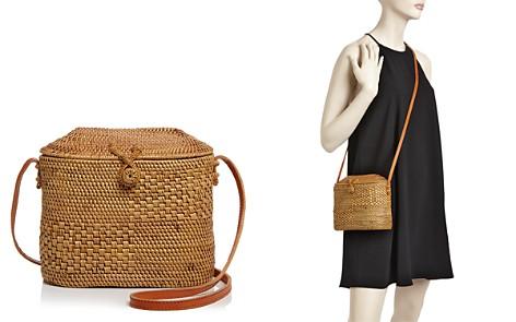 Street Level Straw Crossbody Bucket Bag - Bloomingdale's_2