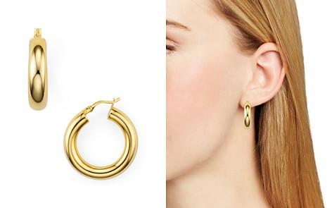Argento Vivo Tube Hoop Earrings - Bloomingdale's_2