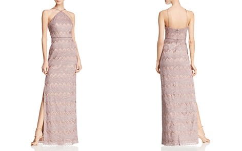Aidan Mattox Embellished Metallic Gown - Bloomingdale's_2