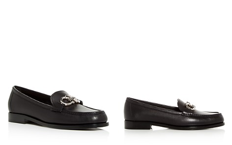 Salvatore Ferragamo Women's Reversible Gancini Leather Loafers - Bloomingdale's_2