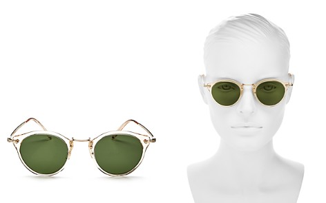 Oliver Peoples Women's Round Sunglasses, 47mm - Bloomingdale's_2