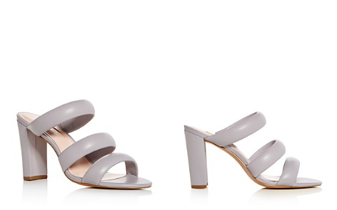 Avec Les Filles Women's Mara Leather High-Heel Slide Sandals - Bloomingdale's_2
