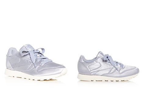Reebok Women's Classic Satin Lace Up Sneakers - Bloomingdale's_2