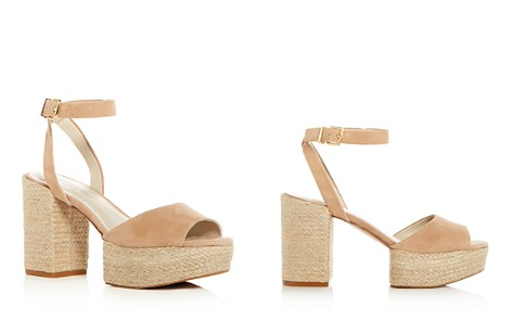 Kenneth Cole Women's Phoenix Suede High Block Heel Platform Sandals - Bloomingdale's_2