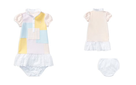 Ralph Lauren Girls' Patchwork Dress & Bloomers Set - Baby - Bloomingdale's_2
