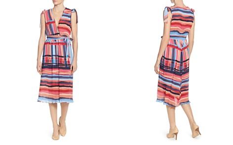 CATHERINE Catherine Malandrino Mickey Multi-Stripe Midi Dress - Bloomingdale's_2