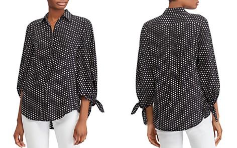 Lauren Ralph Lauren Silk Dot-Print Top - 100% Exclusive - Bloomingdale's_2