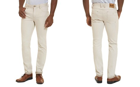 Robert Graham Gonzales Straight Fit Jeans in Off-White - Bloomingdale's_2