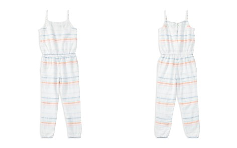 Polo Ralph Lauren Girls' Striped Jumpsuit - Big Kid - Bloomingdale's_2