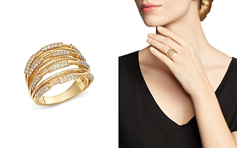 Bloomingdale's Diamond Multi-Row Ring in 14K Yellow Gold, 0.70 ct. t.w. - 100% Exclusive _2