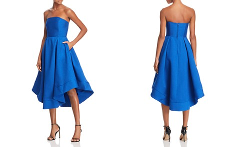 C/MEO Collective Making Waves Strapless Dress - 100% Exclusive - Bloomingdale's_2