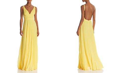 Laundry by Shelli Segal Pleated Chiffon Gown - 100% Exclusive - Bloomingdale's_2