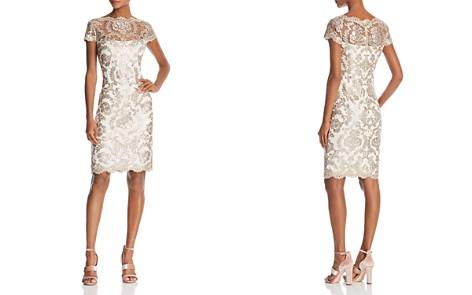 Tadashi Shoji Sequined Lace Dress - Bloomingdale's_2