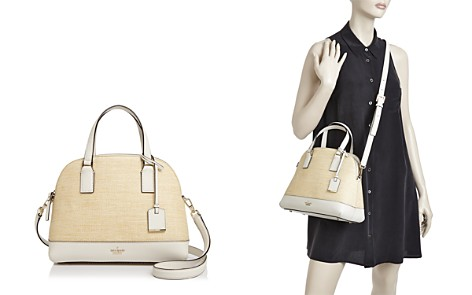 kate spade new york Cameron Street Straw Lottie Satchel - Bloomingdale's_2
