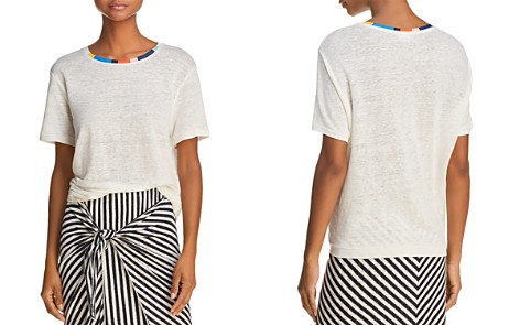 Splendid x Margherita Color-Block Trim Tee - Bloomingdale's_2