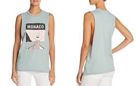 Michelle by Comune Monaco Graphic Muscle Tank - 100% Exclusive - Bloomingdale's_2