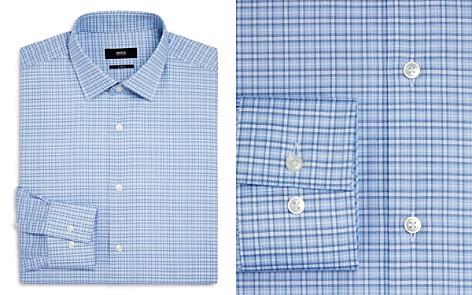 BOSS Dash Check Slim Fit Dress Shirt - Bloomingdale's_2