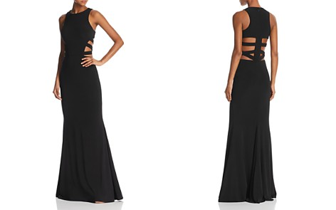 Faviana Couture Strappy Cutout Gown - 100% Exclusive - Bloomingdale's_2