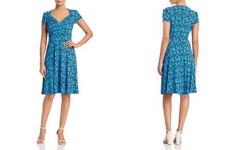 Leota Sweetheart Printed Dress - Bloomingdale's_2