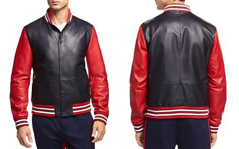 Tommy Hilfiger Essential Leather Varsity Bomber Jacket - Bloomingdale's_2