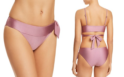 BECCA® by Rebecca Virtue Ballerina Side Tie Bikini Bottom - Bloomingdale's_2