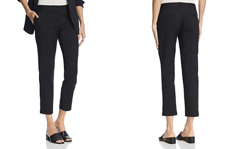 AQUA Straight Crop Pants - 100% Exclusive - Bloomingdale's_2