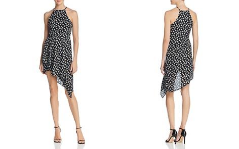 AQUA Asymmetric Floral Print Dress - 100% Exclusive - Bloomingdale's_2