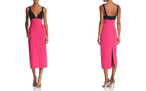 Jill Jill Stuart Color-Block Midi Dress - Bloomingdale's_2