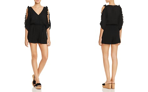 Re:Named Ruffled Cold-Shoulder Romper - Bloomingdale's_2