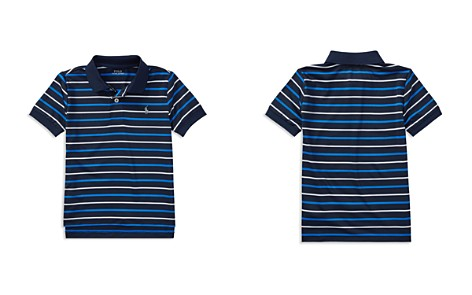 Polo Ralph Lauren Boys' Striped Moisture-Wicking Polo - Little Kid - Bloomingdale's_2