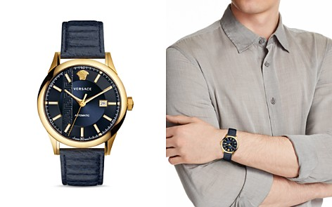 Versace Aiakos Automatic Watch, 44mm - Bloomingdale's_2