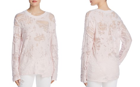 IRO.JEANS Anile Destroyed Sweatshirt - Bloomingdale's_2