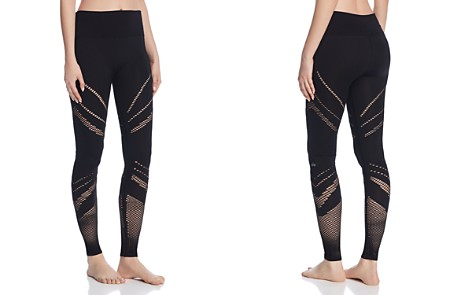 Alo Yoga Seamless Mesh-Inset Leggings - Bloomingdale's_2
