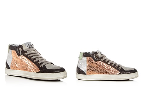 P448 Women's Love Mixed Media Mid Top Sneakers - Bloomingdale's_2