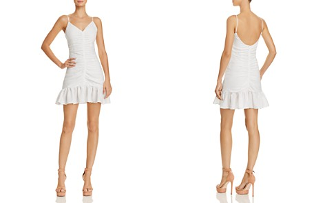 The East Order Celine Ruched Mini Dress - Bloomingdale's_2