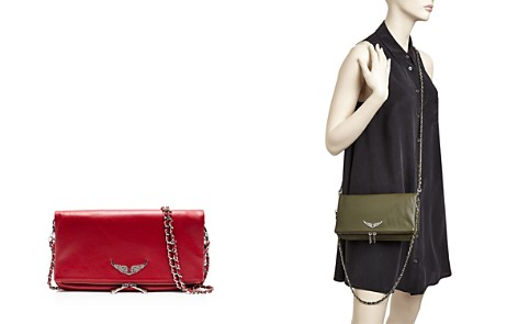 Zadig & Voltaire Rock Leather Crossbody Clutch - Bloomingdale's_2