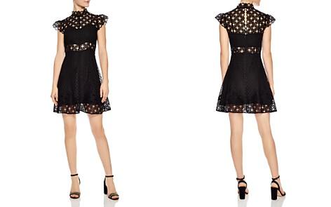 Sandro Jannie Lace A-Line Mini Dress - Bloomingdale's_2