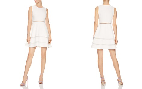 Sandro Carrie Lace-Inset Mini Dress - Bloomingdale's_2