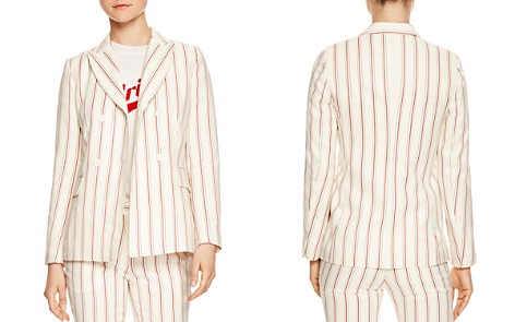 Sandro Severine Striped Blazer - Bloomingdale's_2