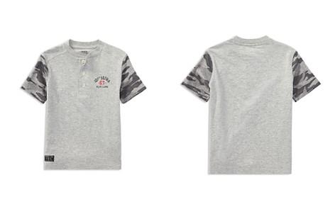 Polo Ralph Lauren Boys' Contrast Camo-Print Short-Sleeve Henley Tee - Little Kid - Bloomingdale's_2