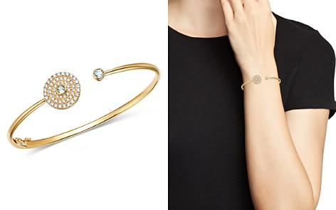 Kiki McDonough 18K Yellow Gold Fantasy Blue Topaz & Diamond Open Cuff Bracelet - Bloomingdale's_2