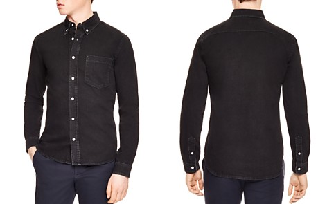 Sandro Heritage Slim Fit Button-Down Shirt - Bloomingdale's_2