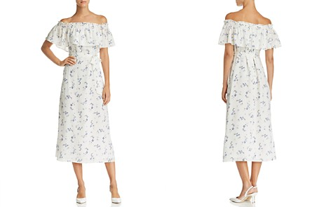 Rebecca Taylor Francine Off-the-Shoulder Floral Silk Dress - 100% Exclusive - Bloomingdale's_2