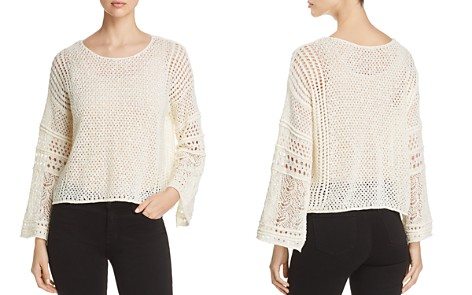 1.STATE Lace-Knit Bell-Sleeve Sweater - Bloomingdale's_2