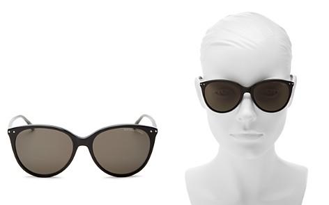 Bottega Veneta Cat Eye Sunglasses, 55mm - Bloomingdale's_2