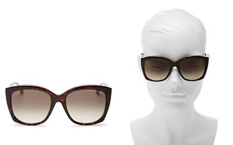 Bottega Veneta Cat Eye Sunglasses, 58mm - Bloomingdale's_2