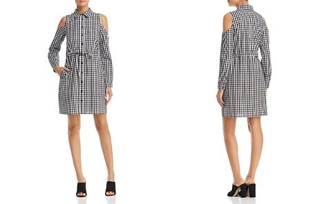 Design History Gingham Cold-Shoulder Shirt Dress - Bloomingdale's_2