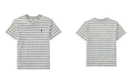 Polo Ralph Lauren Boys' Striped V-Neck Tee - Big Kid - Bloomingdale's_2